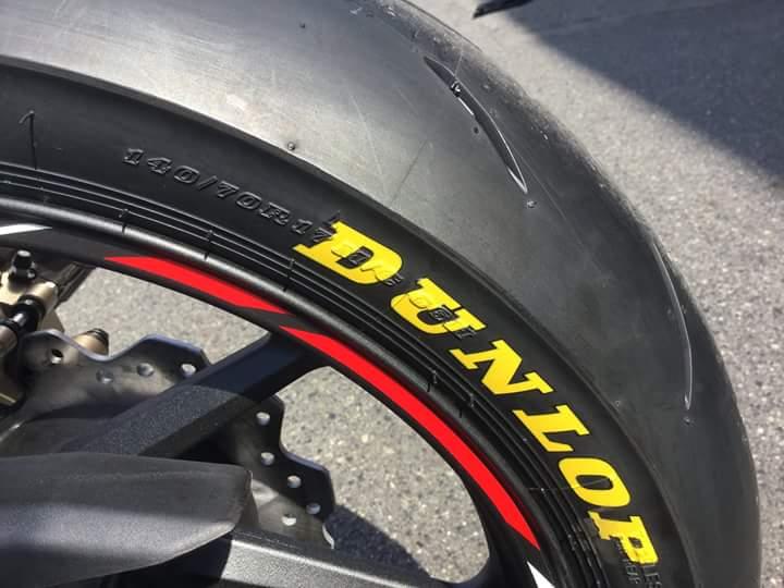 Honda CBR250RR HRC Ban Dunlop