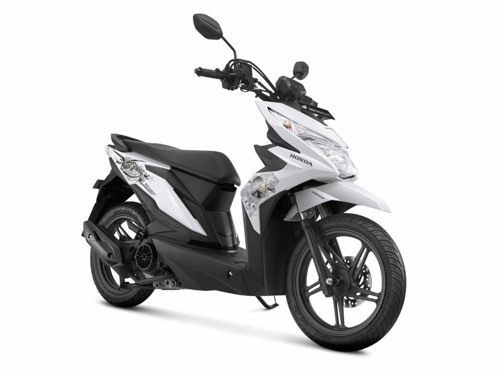 Harga Dan Warna Baru Honda BeAT Street 2017 ..Ada warna Putih ..! | Apipotoblog.com